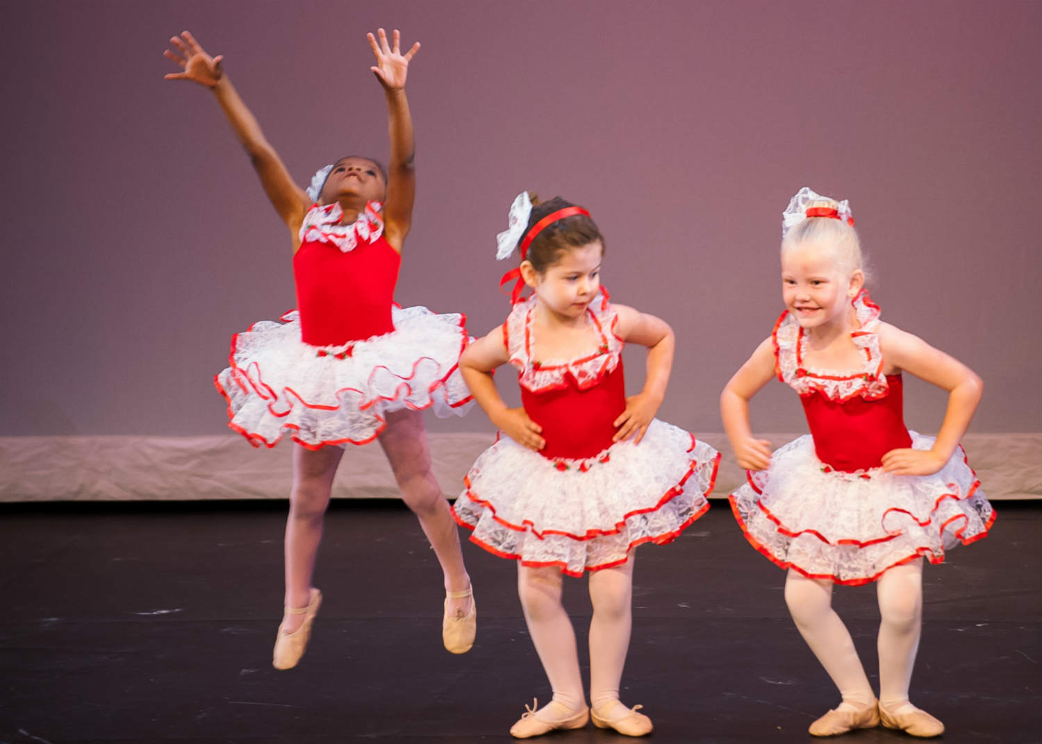 ballet performace on stage
